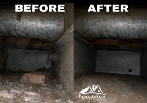 Air Duct Cleaning Before After