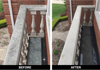 Concrete Cleaning Pressure Washing
