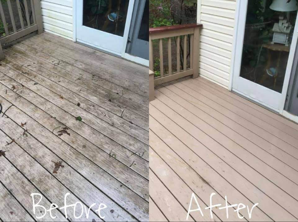 Deck Cleaning Pressure Washing