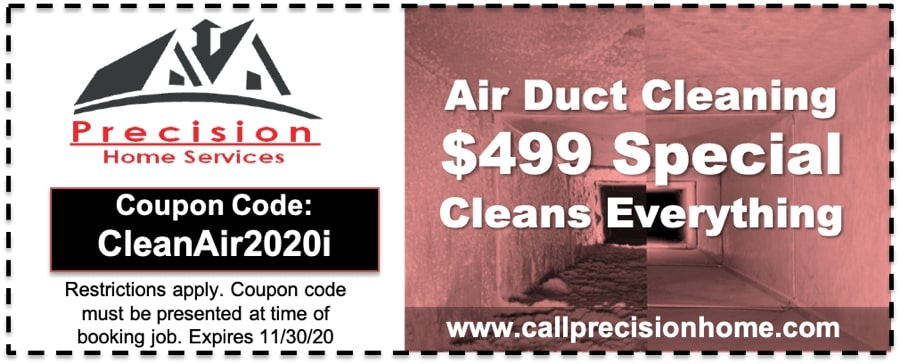 Air Duct Cleaning Special Clean Air 2020